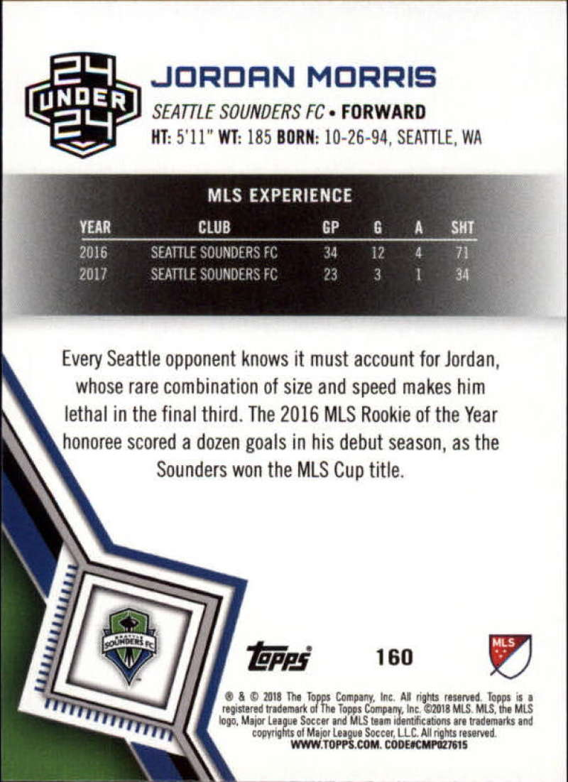 2018-Topps-MLS-Soccer-Base-Set-Cards-Choose-From-Card-039-s-1-200 thumbnail 318