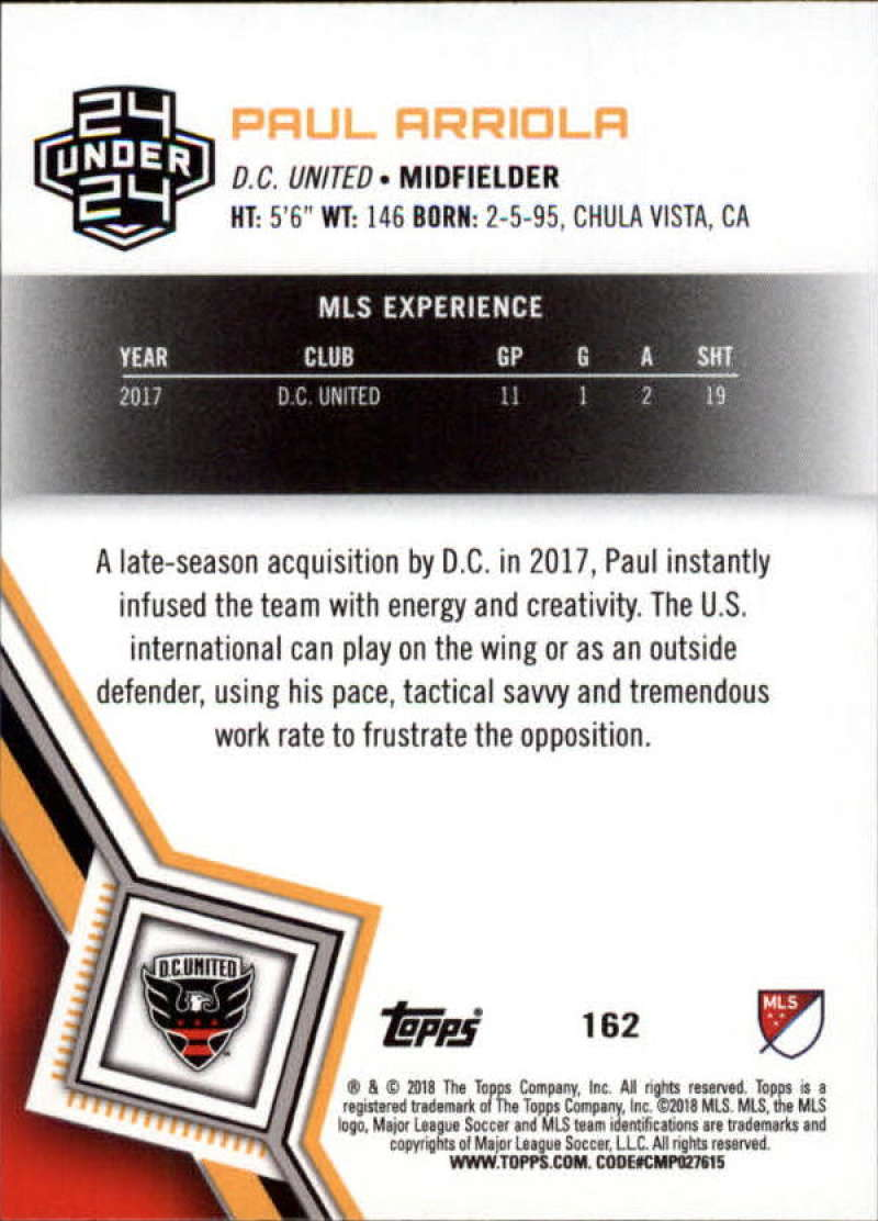 2018-Topps-MLS-Soccer-Base-Set-Cards-Choose-From-Card-039-s-1-200 thumbnail 322
