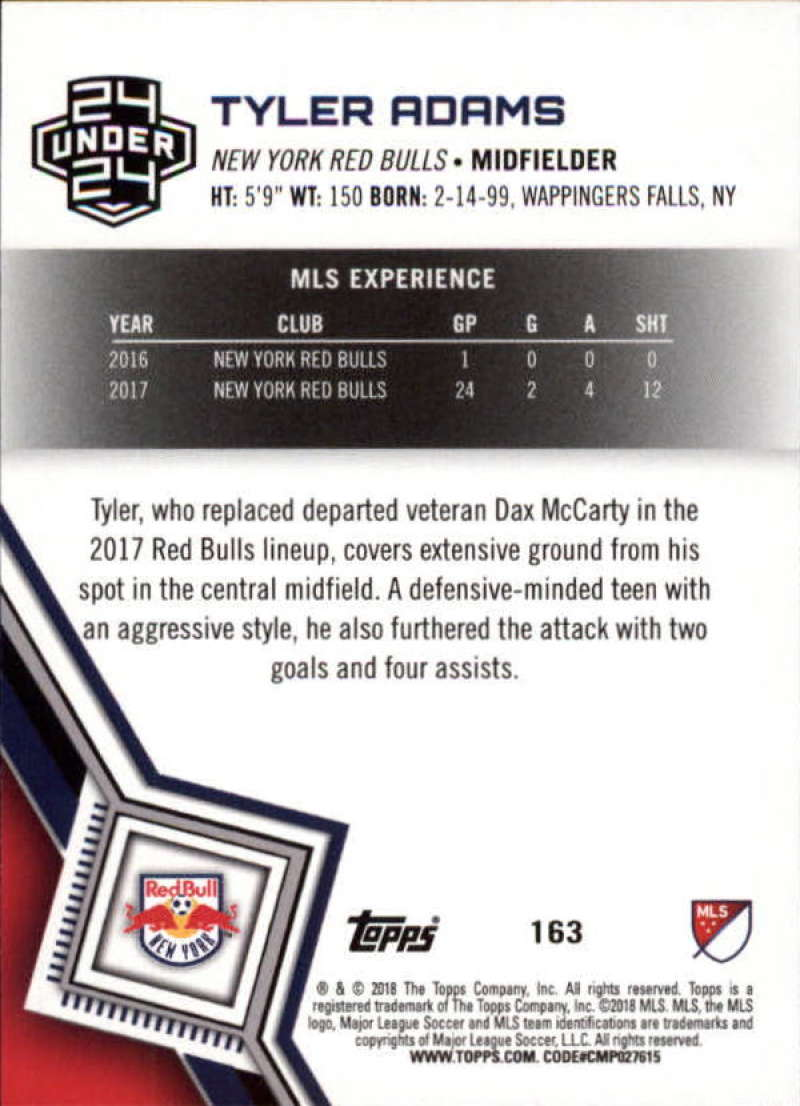 2018-Topps-MLS-Soccer-Base-Set-Cards-Choose-From-Card-039-s-1-200 thumbnail 324