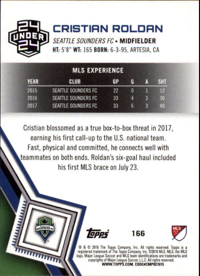 2018-Topps-MLS-Soccer-Base-Set-Cards-Choose-From-Card-039-s-1-200 thumbnail 330