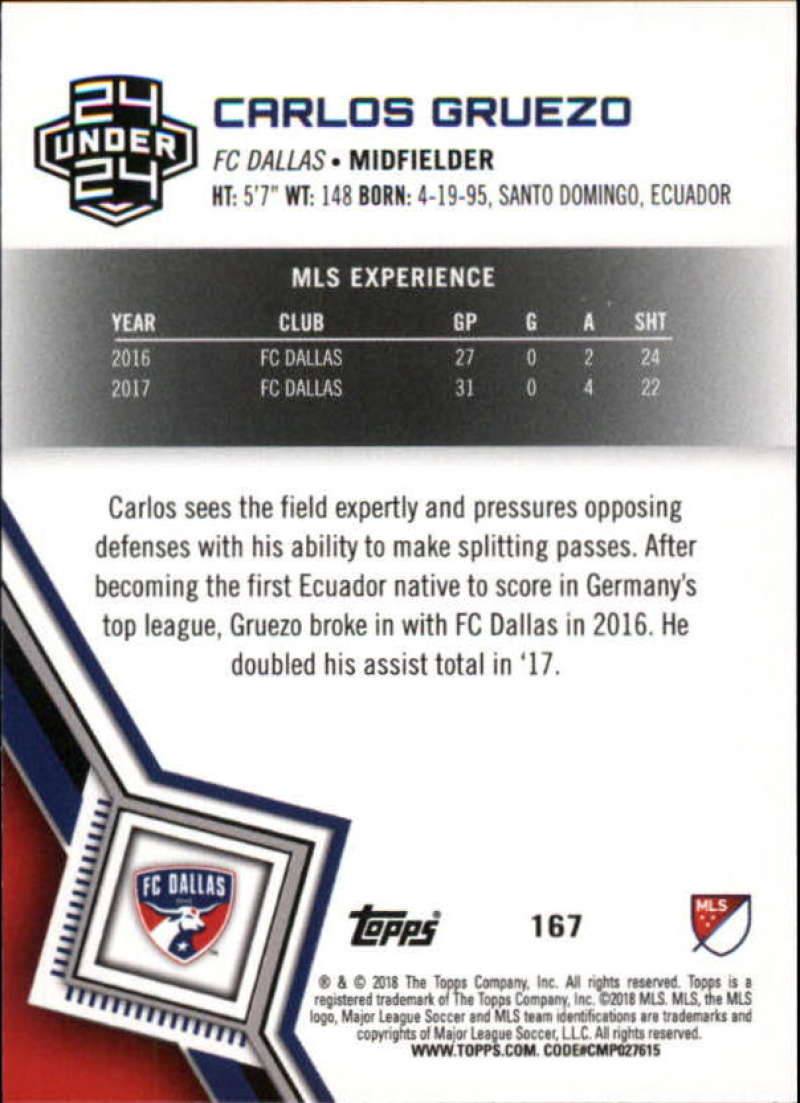2018-Topps-MLS-Soccer-Base-Set-Cards-Choose-From-Card-039-s-1-200 thumbnail 332