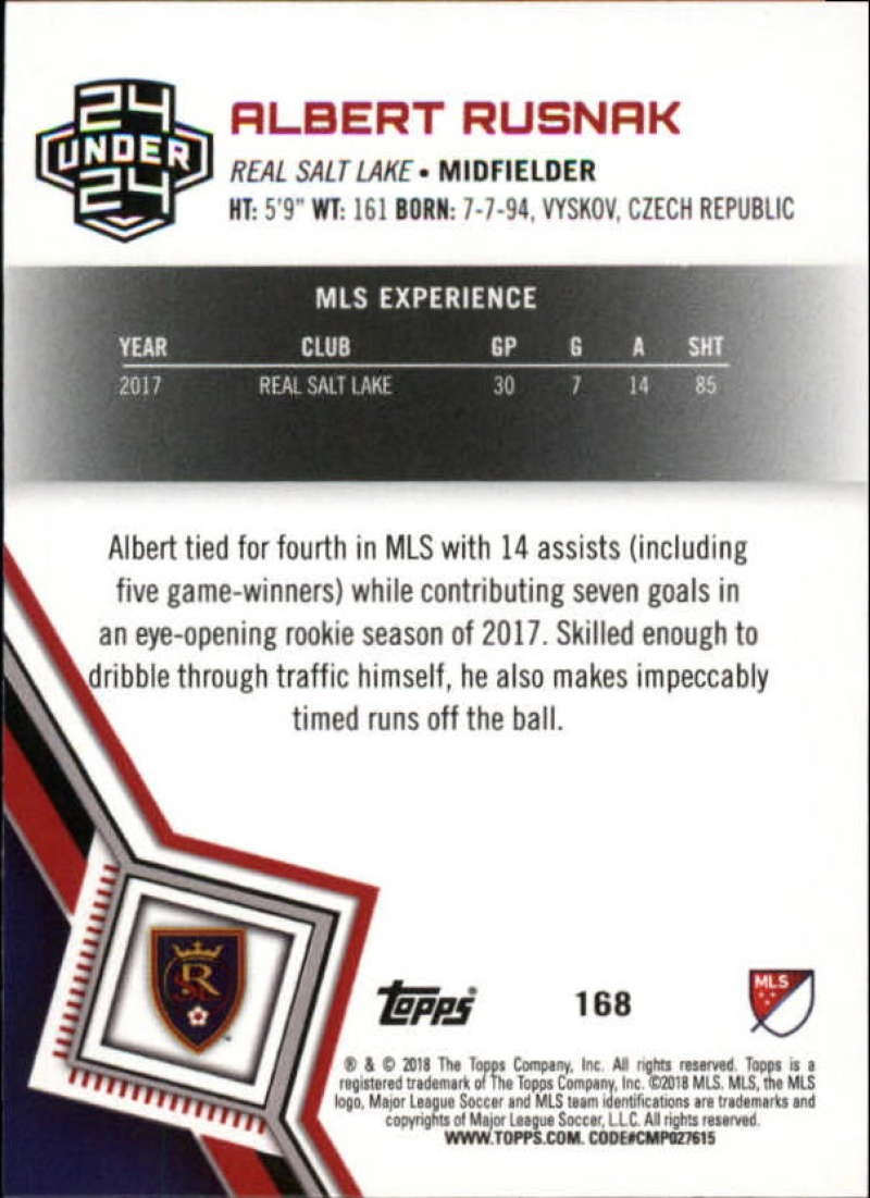 2018-Topps-MLS-Soccer-Base-Set-Cards-Choose-From-Card-039-s-1-200 thumbnail 334