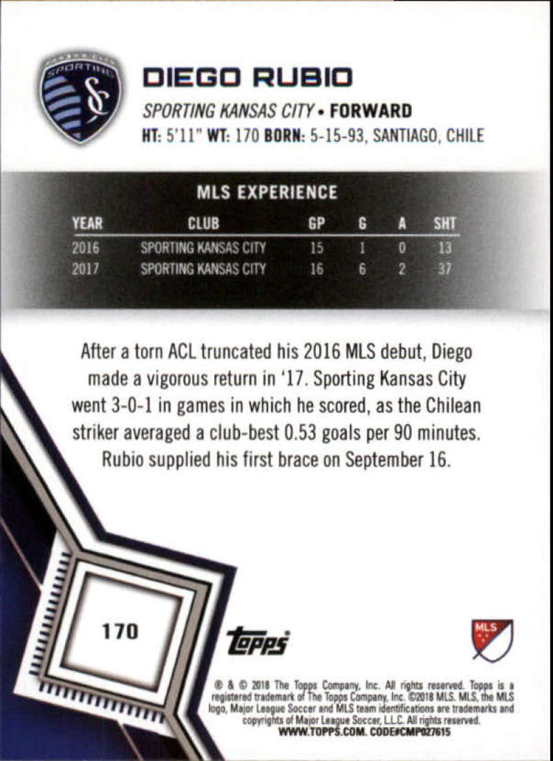2018-Topps-MLS-Soccer-Base-Set-Cards-Choose-From-Card-039-s-1-200 thumbnail 338