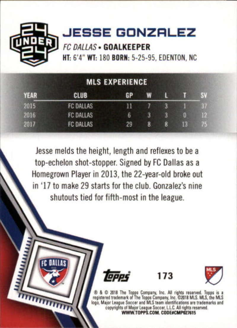2018-Topps-MLS-Soccer-Base-Set-Cards-Choose-From-Card-039-s-1-200 thumbnail 344