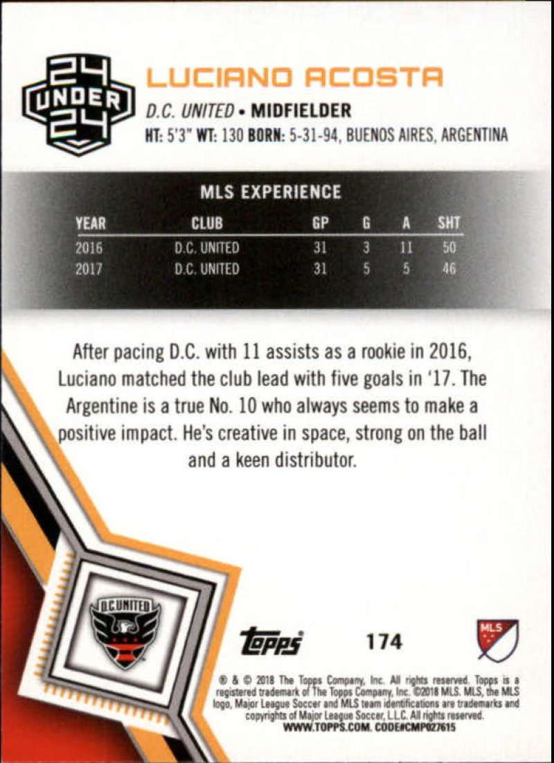2018-Topps-MLS-Soccer-Base-Set-Cards-Choose-From-Card-039-s-1-200 thumbnail 346
