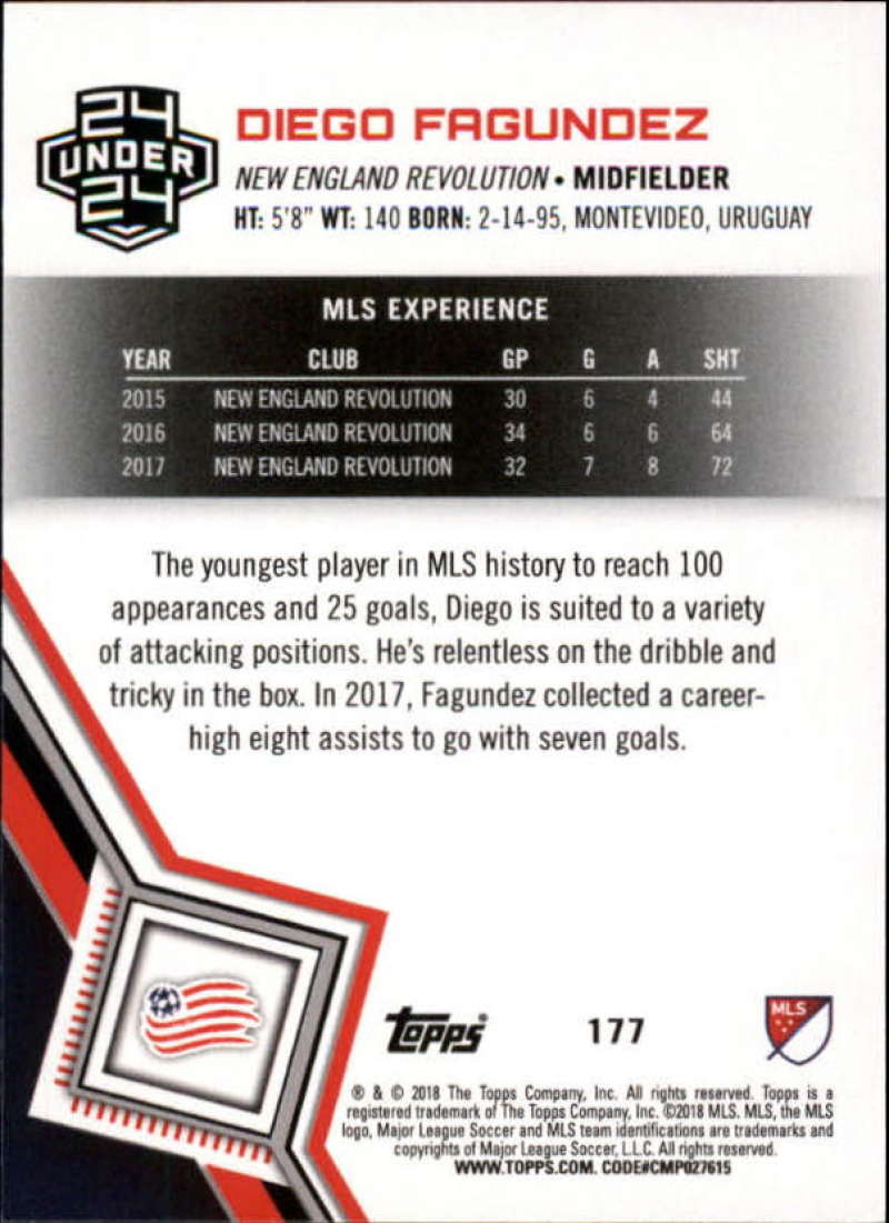 2018-Topps-MLS-Soccer-Base-Set-Cards-Choose-From-Card-039-s-1-200 thumbnail 352