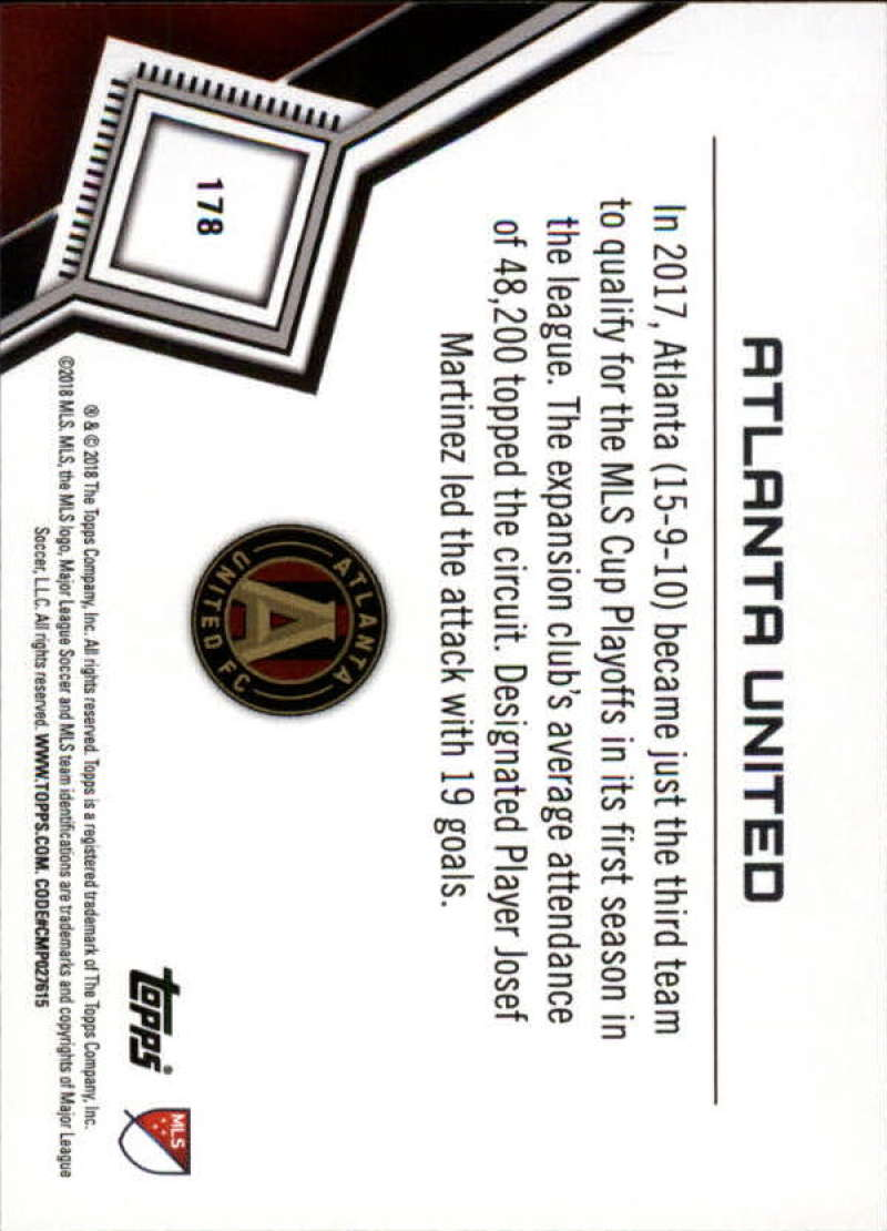 2018-Topps-MLS-Soccer-Base-Set-Cards-Choose-From-Card-039-s-1-200 thumbnail 354