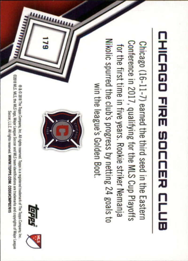 2018-Topps-MLS-Soccer-Base-Set-Cards-Choose-From-Card-039-s-1-200 thumbnail 356