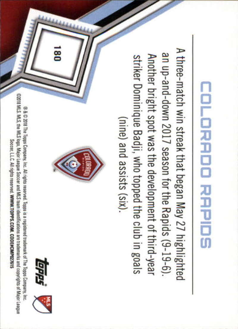 2018-Topps-MLS-Soccer-Base-Set-Cards-Choose-From-Card-039-s-1-200 thumbnail 358