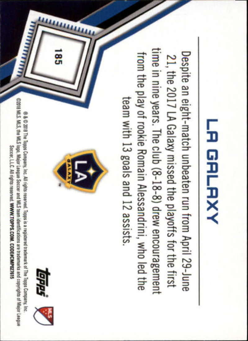 2018-Topps-MLS-Soccer-Base-Set-Cards-Choose-From-Card-039-s-1-200 thumbnail 368