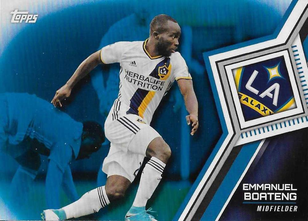 2018 Topps MLS Blue