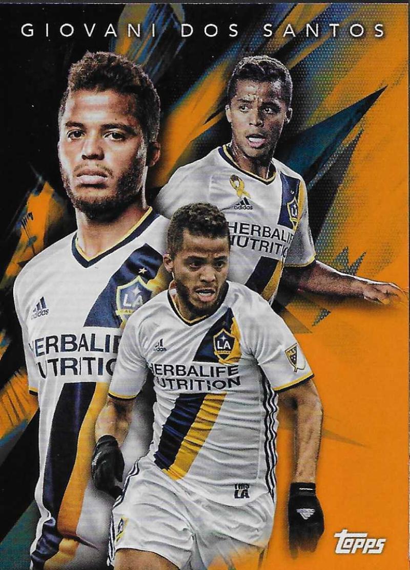 2018 Topps MLS Multi-Dimensional Orange