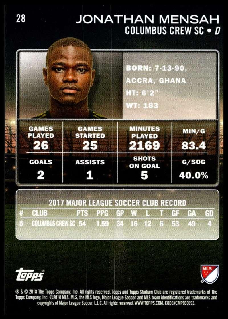 2018-Topps-Stadium-Club-MLS-Soccer-Pick-A-Player thumbnail 55