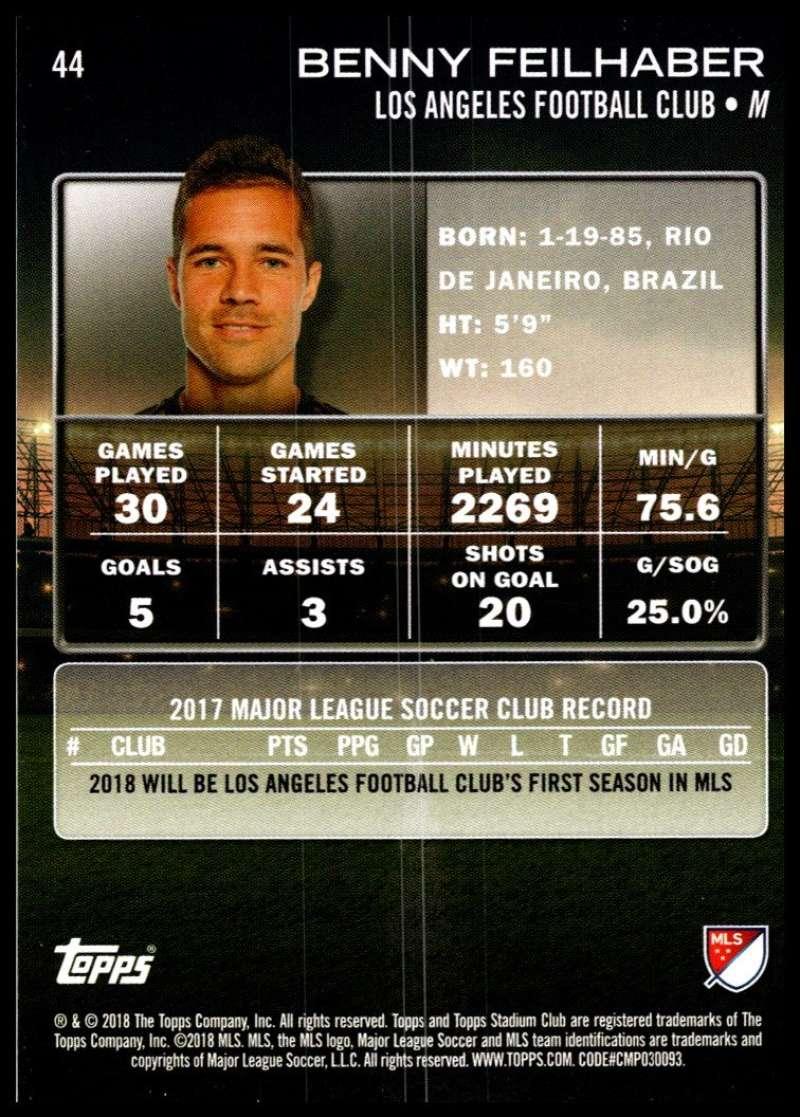 2018-Topps-Stadium-Club-MLS-Soccer-Pick-A-Player thumbnail 87