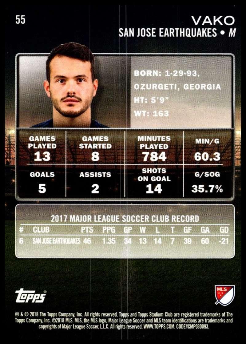 2018-Topps-Stadium-Club-MLS-Soccer-Pick-A-Player thumbnail 109