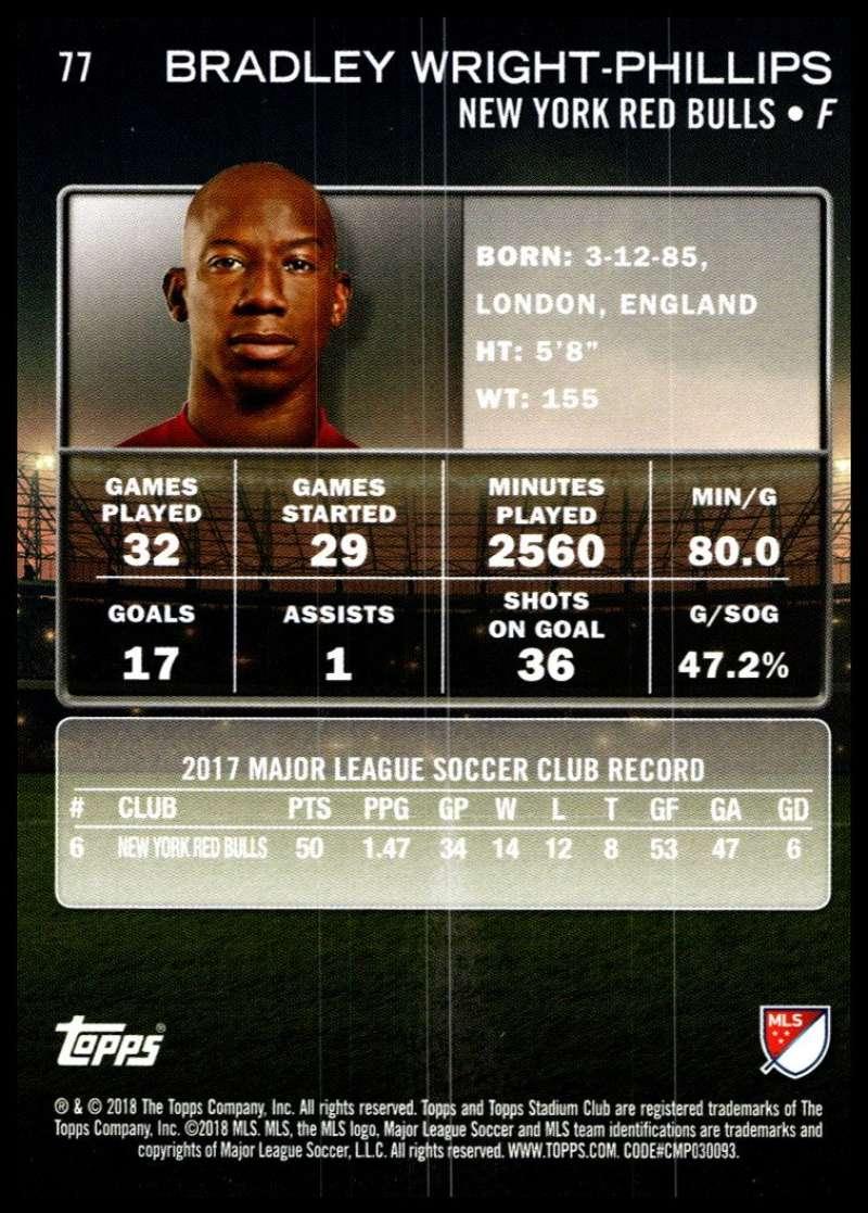 2018-Topps-Stadium-Club-MLS-Soccer-Pick-A-Player thumbnail 153