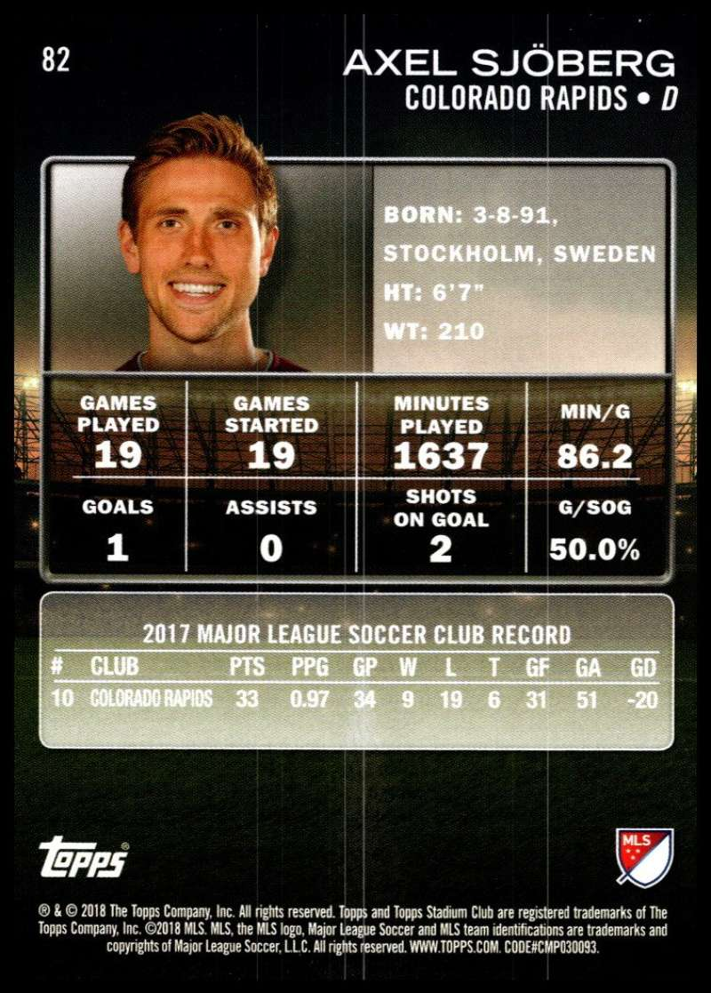 2018-Topps-Stadium-Club-MLS-Soccer-Pick-A-Player thumbnail 163