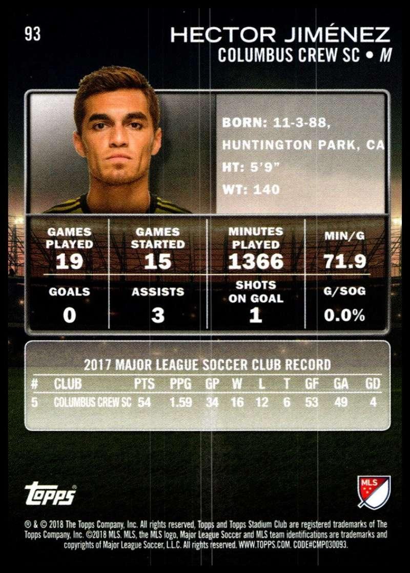 2018-Topps-Stadium-Club-MLS-Soccer-Pick-A-Player thumbnail 185