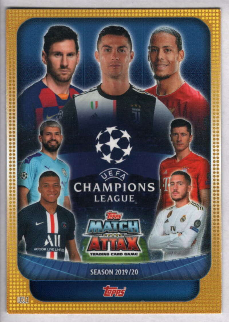 2019-20 Topps UEFA Champions League Match Attax UCL Title/Trophy