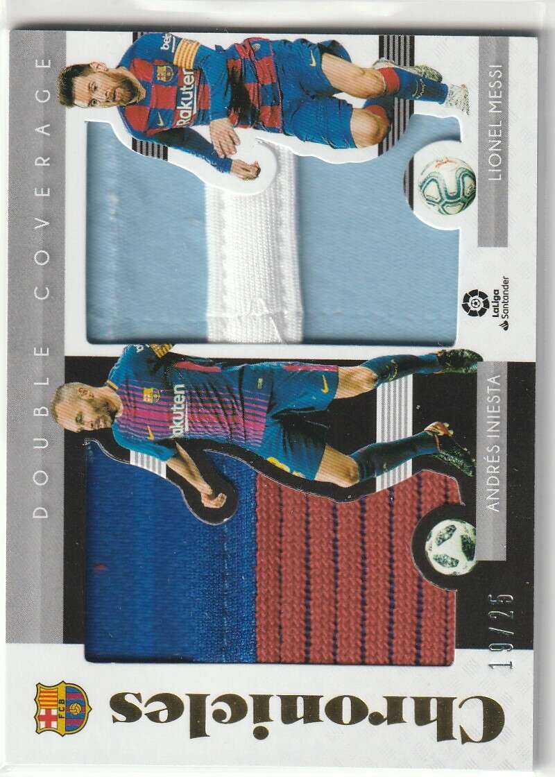2019-20 Panini Chronicles Double Coverage Relics Prime