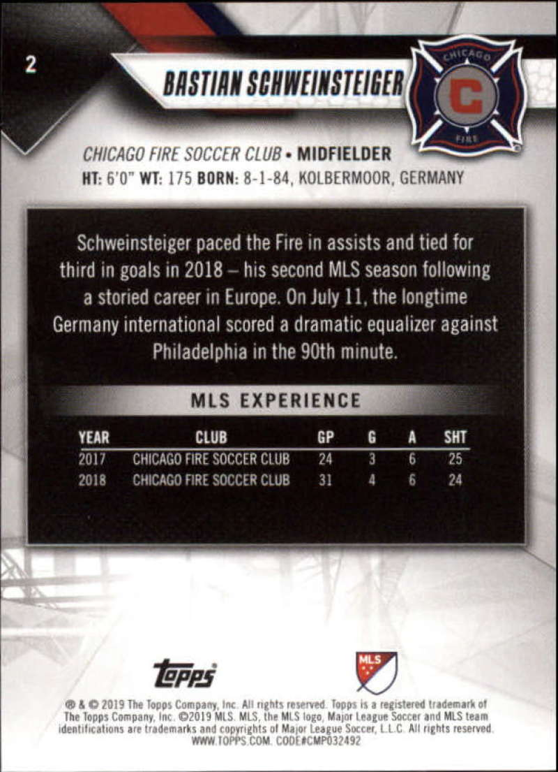2019-Topps-MLS-Soccer-Base-Set-Cards-Choose-From-Card-039-s-1-200 thumbnail 5