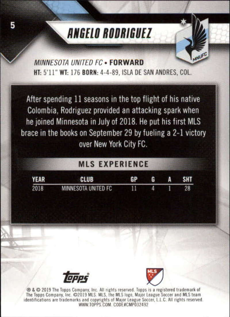 2019-Topps-MLS-Soccer-Base-Set-Cards-Choose-From-Card-039-s-1-200 thumbnail 11