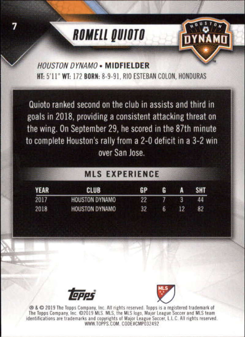 2019-Topps-MLS-Soccer-Base-Set-Cards-Choose-From-Card-039-s-1-200 thumbnail 15