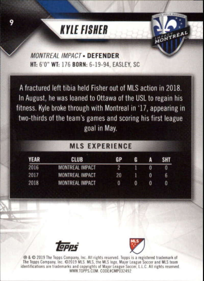 2019-Topps-MLS-Soccer-Base-Set-Cards-Choose-From-Card-039-s-1-200 thumbnail 19