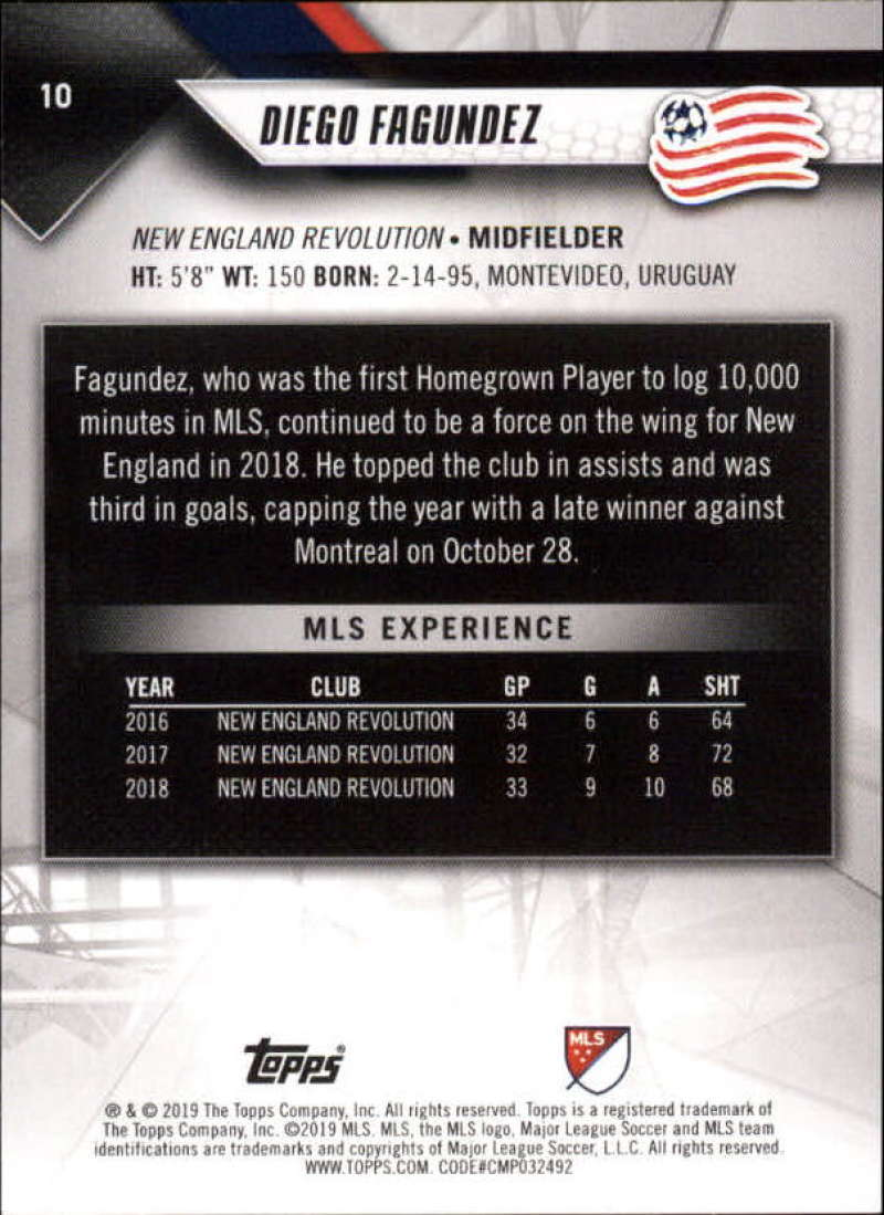 2019-Topps-MLS-Soccer-Base-Set-Cards-Choose-From-Card-039-s-1-200 thumbnail 21