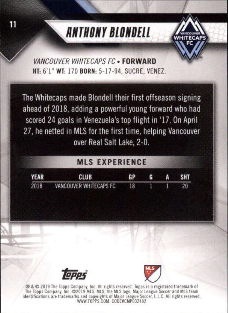 2019-Topps-MLS-Soccer-Base-Set-Cards-Choose-From-Card-039-s-1-200 thumbnail 23