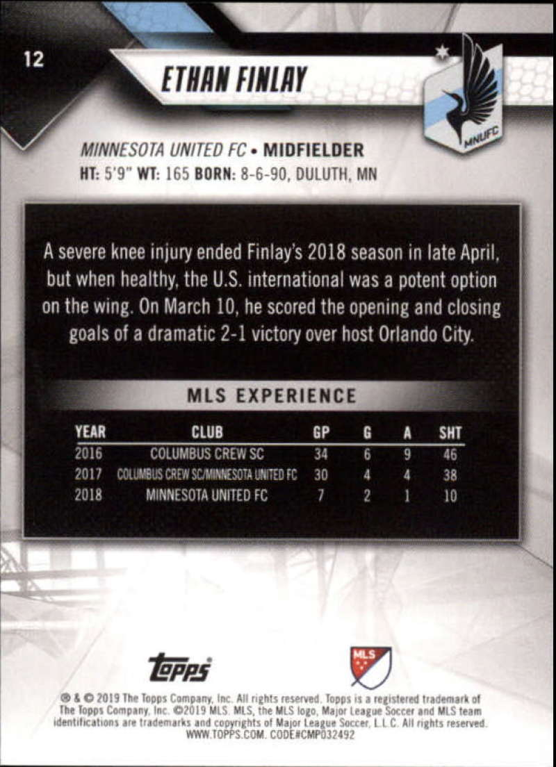 2019-Topps-MLS-Soccer-Base-Set-Cards-Choose-From-Card-039-s-1-200 thumbnail 25