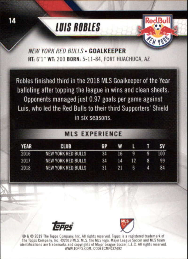 2019-Topps-MLS-Soccer-Base-Set-Cards-Choose-From-Card-039-s-1-200 thumbnail 29