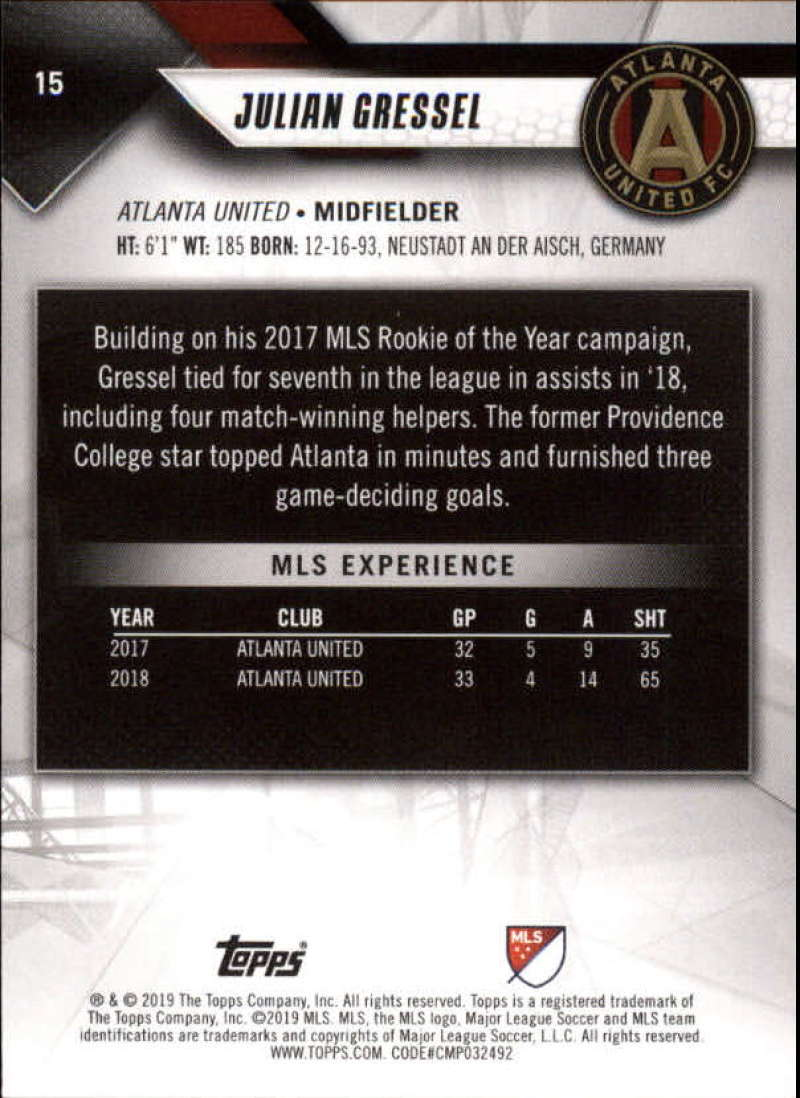 2019-Topps-MLS-Soccer-Base-Set-Cards-Choose-From-Card-039-s-1-200 thumbnail 31