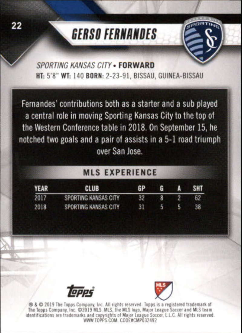 2019-Topps-MLS-Soccer-Base-Set-Cards-Choose-From-Card-039-s-1-200 thumbnail 45