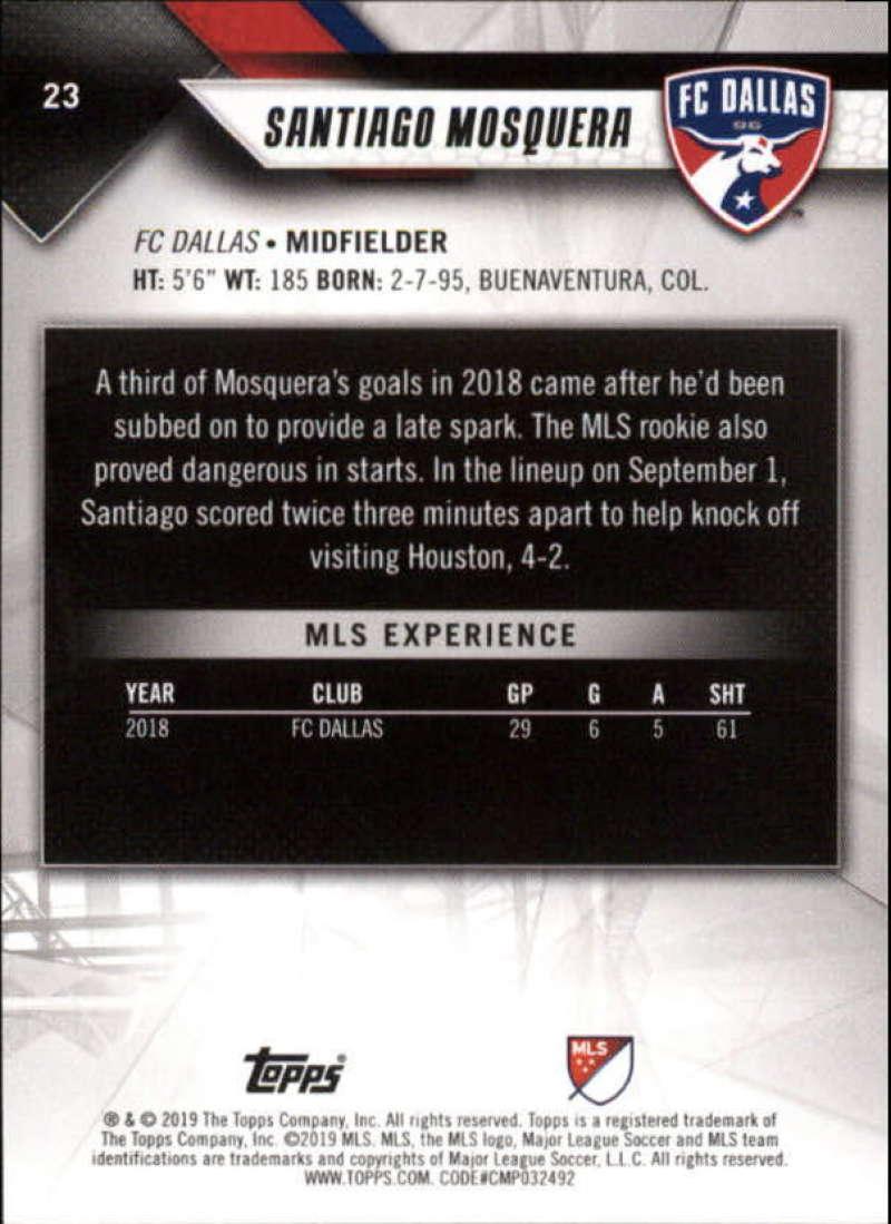 2019-Topps-MLS-Soccer-Pick-A-Card thumbnail 47