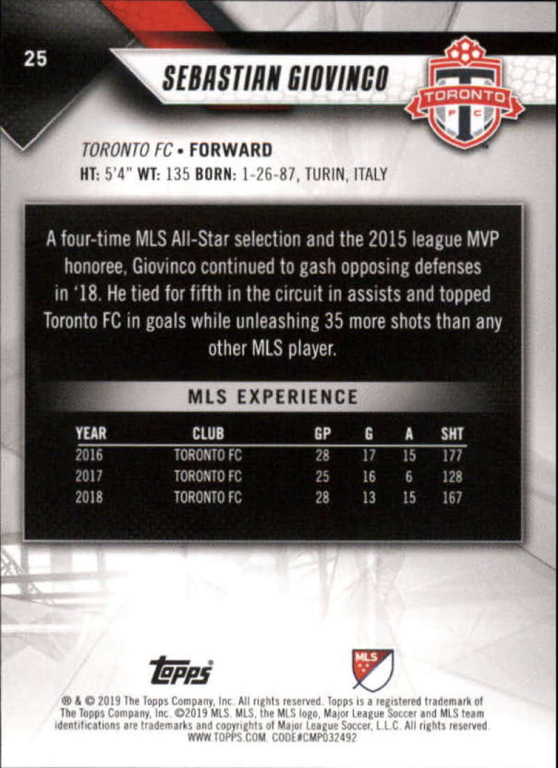 2019-Topps-MLS-Soccer-Base-Set-Cards-Choose-From-Card-039-s-1-200 thumbnail 51