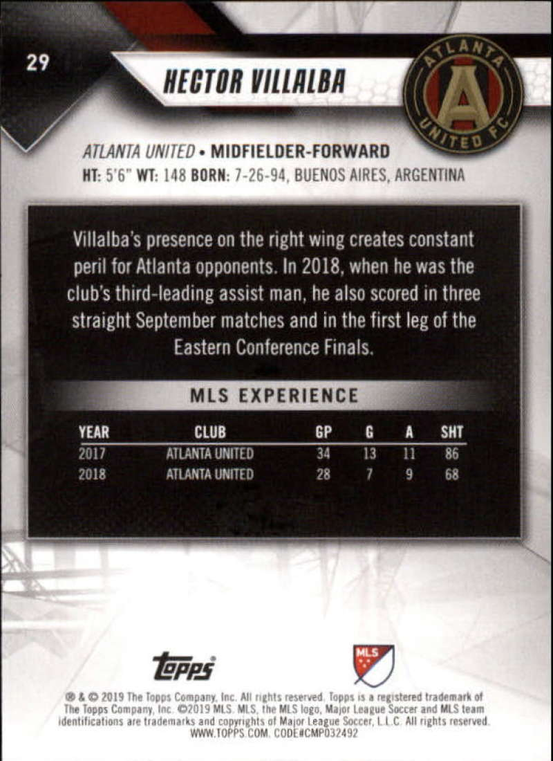 2019-Topps-MLS-Soccer-Base-Set-Cards-Choose-From-Card-039-s-1-200 thumbnail 59