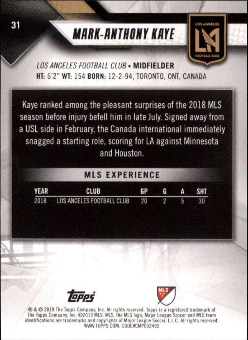 2019-Topps-MLS-Soccer-Pick-A-Card thumbnail 63