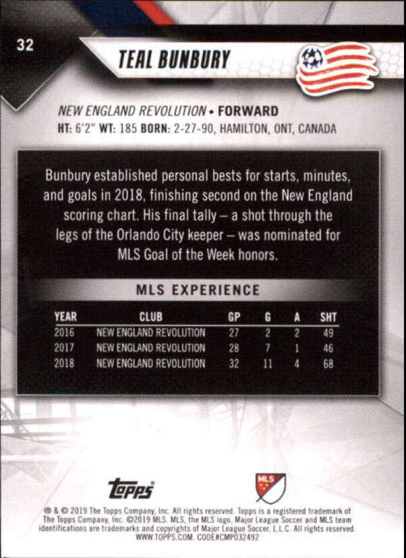 2019-Topps-MLS-Soccer-Base-Set-Cards-Choose-From-Card-039-s-1-200 thumbnail 65