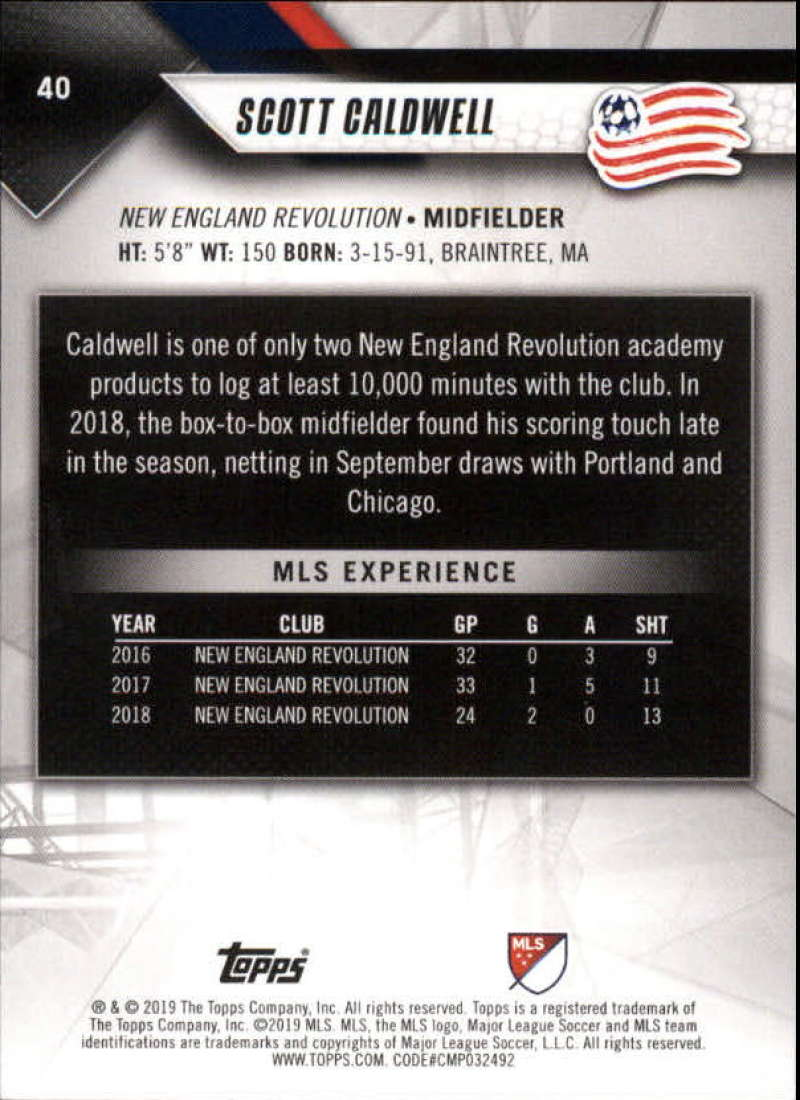 2019-Topps-MLS-Soccer-Base-Set-Cards-Choose-From-Card-039-s-1-200 thumbnail 81