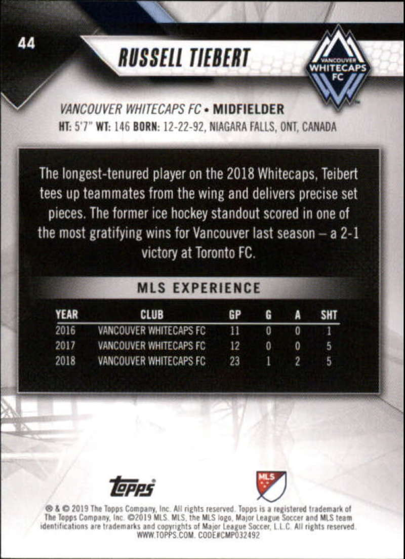 2019-Topps-MLS-Soccer-Base-Set-Cards-Choose-From-Card-039-s-1-200 thumbnail 89