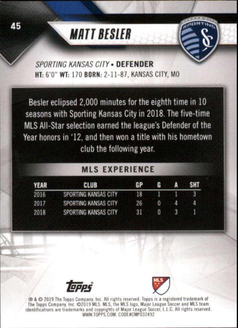 2019-Topps-MLS-Soccer-Pick-A-Card thumbnail 91