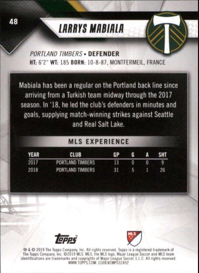 2019-Topps-MLS-Soccer-Pick-A-Card thumbnail 97