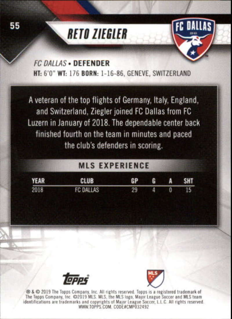 2019-Topps-MLS-Soccer-Base-Set-Cards-Choose-From-Card-039-s-1-200 thumbnail 111