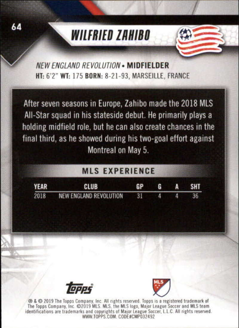 2019-Topps-MLS-Soccer-Base-Set-Cards-Choose-From-Card-039-s-1-200 thumbnail 129