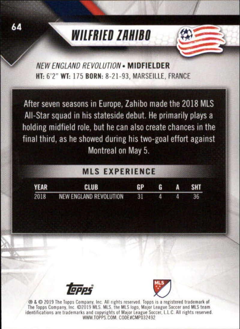 2019-Topps-MLS-Soccer-Pick-A-Card thumbnail 129
