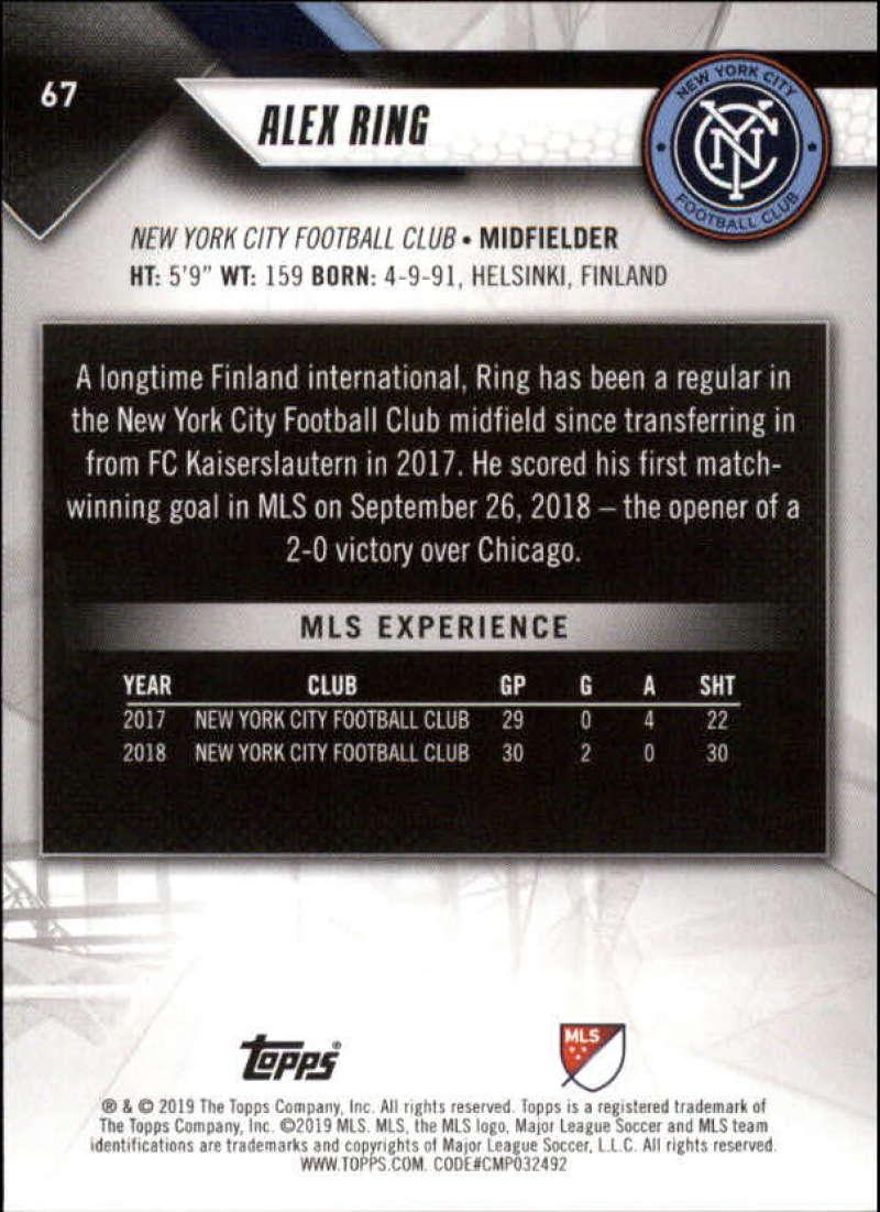2019-Topps-MLS-Soccer-Pick-A-Card thumbnail 135