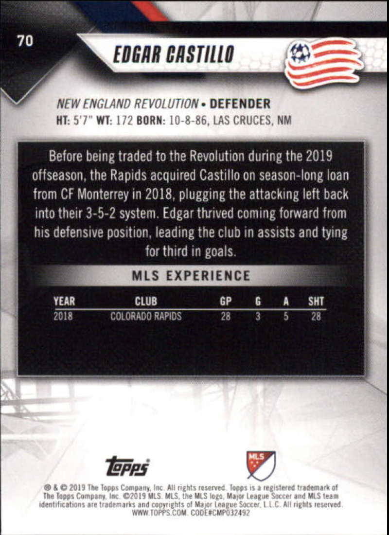 2019-Topps-MLS-Soccer-Base-Set-Cards-Choose-From-Card-039-s-1-200 thumbnail 141