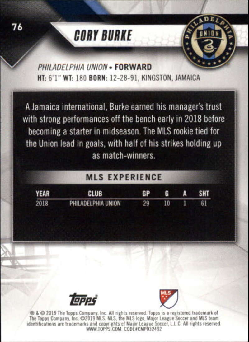 2019-Topps-MLS-Soccer-Base-Set-Cards-Choose-From-Card-039-s-1-200 thumbnail 153