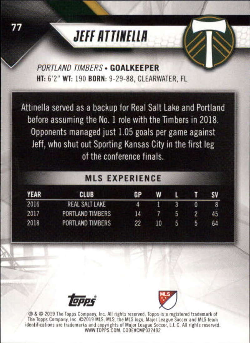 2019-Topps-MLS-Soccer-Base-Set-Cards-Choose-From-Card-039-s-1-200 thumbnail 155